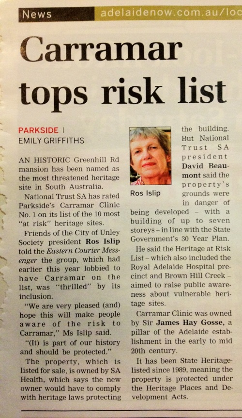 Eastern Courier Messenger: Carramar tops risk list